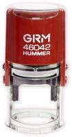 Изготовление печатей на автоматической оснастке GRM Hummer 46042 Red