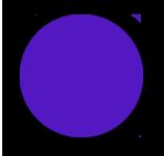 Фиолетовые чернила для печатей